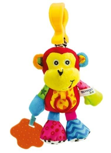 Prego Prego Toys FK8012 Neşeli Maymun Renkli